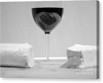 Vino Reflections Reveal Canvas Print by John Debar