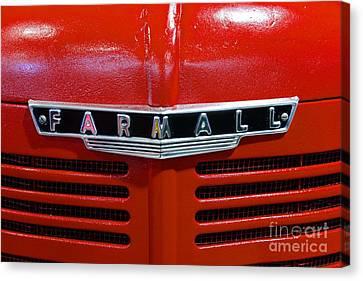 Antique Tractors Canvas Print - Vintage 1947 Farmall Tractor by Paul Ward