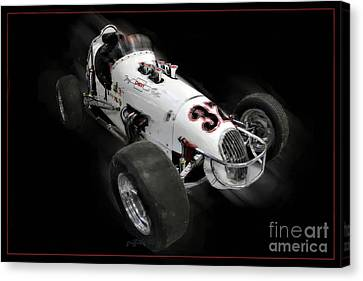 Vintage 36 Canvas Print by Tom Griffithe