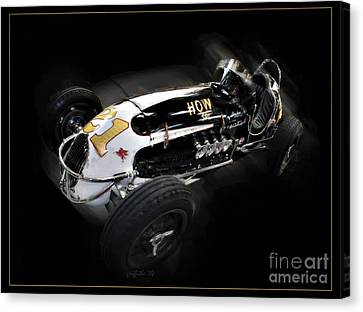 Vintage 40 Canvas Print by Tom Griffithe