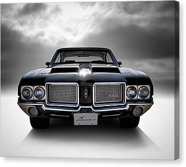 Vintage 442 Canvas Print by Douglas Pittman