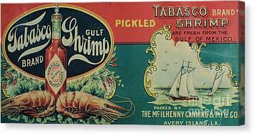Vintage Advertisement Canvas Print by Steven Parker