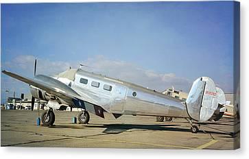 Vintage Aeroplane 2 Canvas Print by Fraida Gutovich