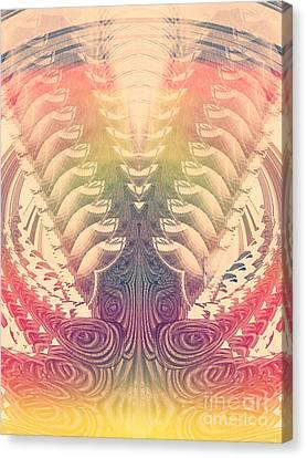 Vintage Bohemian 1 Canvas Print by Dasha Masha