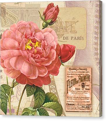 Vintage Botanical II Canvas Print