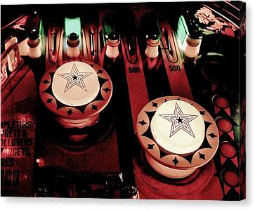 Vintage Bumpers Canvas Print by Benjamin Yeager