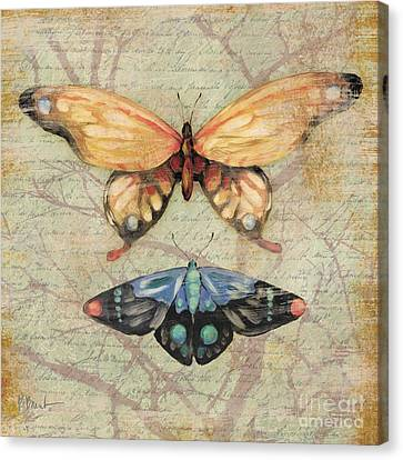 Vintage Butterfly II Canvas Print by Paul Brent