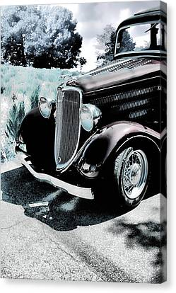 Vintage Ford Car Art 1 Canvas Print by Lesa Fine