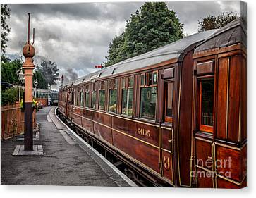 Vintage Carriages Canvas Print by Adrian Evans