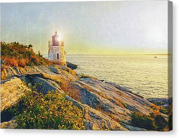 Vintage Castle Hill Light Canvas Print