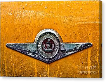 Nyc Canvas Print - Vintage Checker Taxi by John Farnan