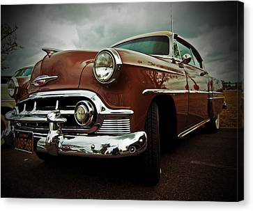 Canvas Print featuring the photograph Vintage Chrysler by Gianfranco Weiss