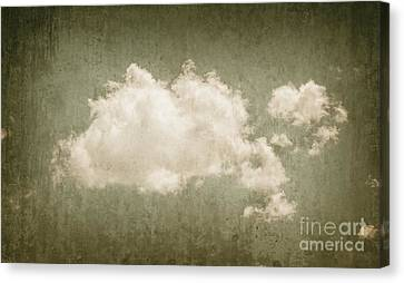 Vintage Clouds Background Canvas Print by Jorgo Photography - Wall Art Gallery
