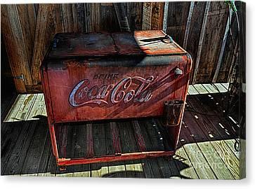Vintage Coca-cola Canvas Print by Paul Mashburn