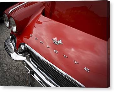 Vintage Corvette Canvas Print by Patrice Zinck