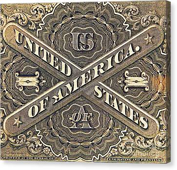 Vintage Currency  Canvas Print by Chris Berry