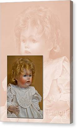 Vintage Doll Beauty Art Prints Canvas Print