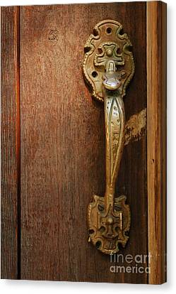Vintage Door Handle Canvas Print