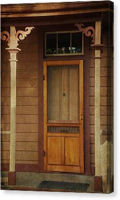 Vintage Doorway Canvas Print by Marilyn Wilson