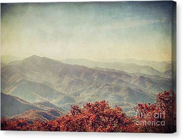 Vintage Fall Canvas Print by Emily Kay