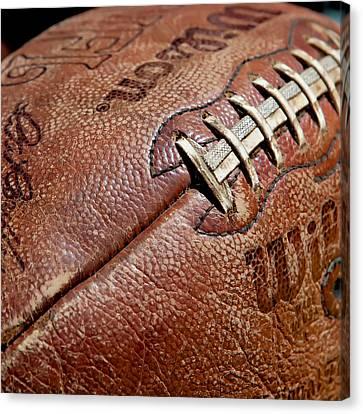 Vintage Football Canvas Print