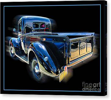 Vintage Ford Pickup Canvas Print by Tom Griffithe