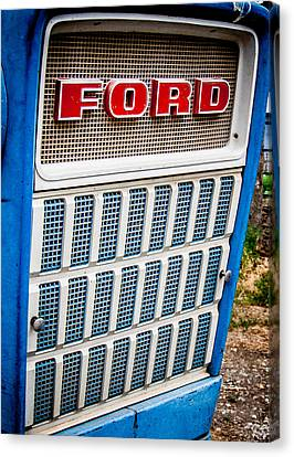 Canvas Print featuring the photograph Vintage Ford Tractoy by Dawn Romine