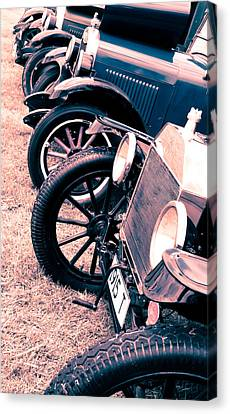 Vintage Fords Canvas Print by Phil 'motography' Clark