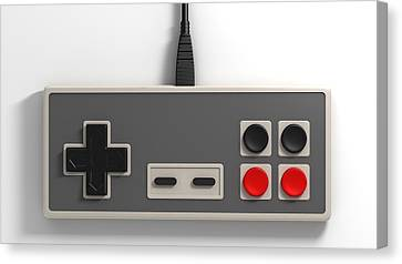 Vintage Gaming Canvas Print