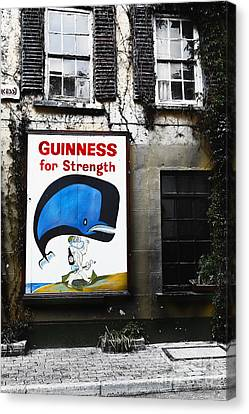 Vintage Guinness Sign  Canvas Print by George Oze