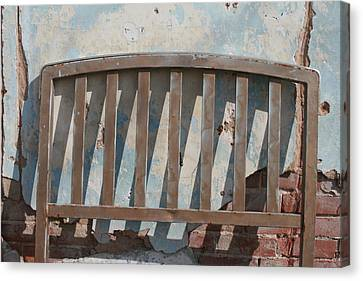 Vintage Headboard Canvas Print by Paulette Maffucci