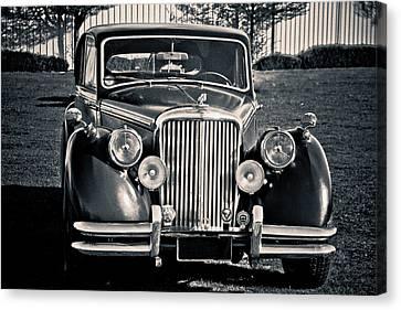 Vintage Jaguar 1950s Canvas Print by Eti Reid
