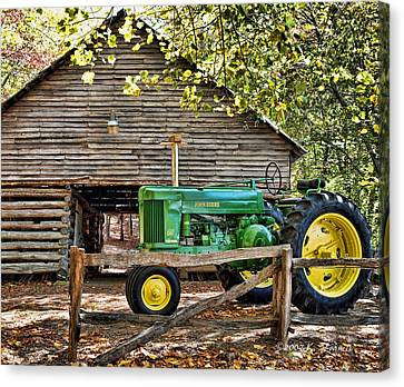 Vintage Canvas Print by Kenny Francis