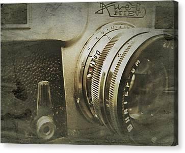 Vintage Kiev Camera Canvas Print by John Colley