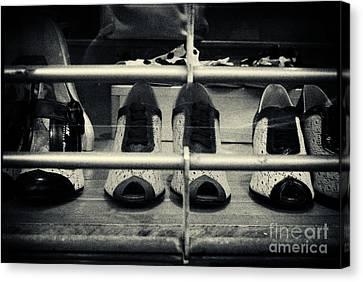Vintage Ladies' Shoes New York City Canvas Print