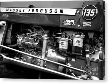Vintage Massey Ferguson Canvas Print