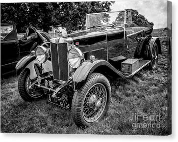 Vintage Mg Canvas Print by Adrian Evans