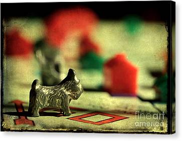 Vintage Monopoly Canvas Print by Michael Eingle