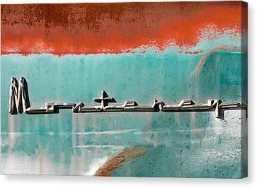 Vintage Monterey Emblem Canvas Print by Tony Grider