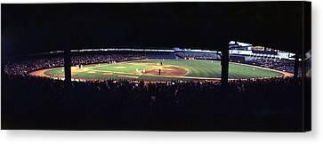 Vintage Yankee Stadium  Canvas Print by Retro Images Archive