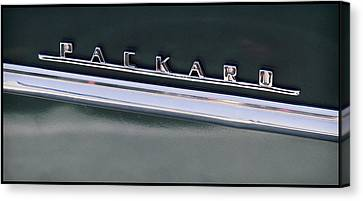 Vintage Packard Insignia Canvas Print by Tony Grider