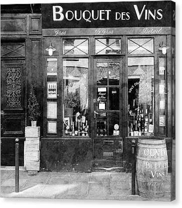 Vintage Paris 11c Canvas Print by Andrew Fare