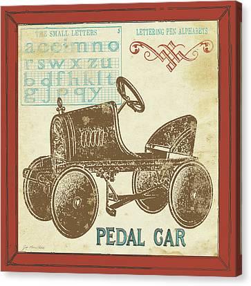 Vintage Pedal Car Canvas Print by Jo Moulton