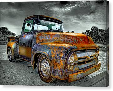Vintage  Pickup Truck Canvas Print
