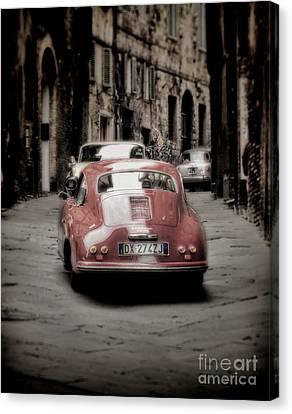 Vintage Porsche Canvas Print by Karen Lewis