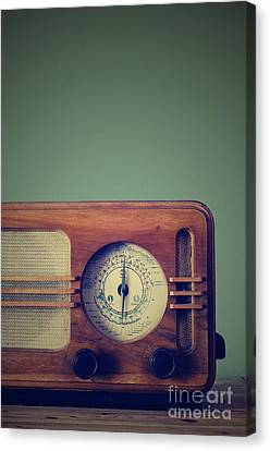 Vintage Radio Canvas Print by Jelena Jovanovic