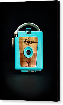 Vintage Sabre 620 Camera Canvas Print by Jon Woodhams