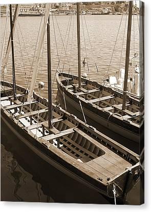 Vintage Sail Canvas Print by Tamyra Crossley