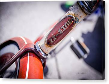 Vintage Schwinn  Canvas Print by Off The Beaten Path Photography - Andrew Alexander
