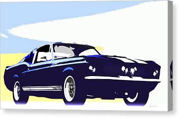 Vintage Shelby Gt500 Canvas Print by Bob Orsillo